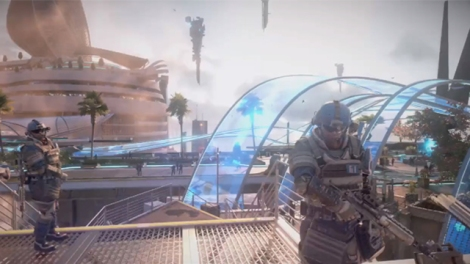 Killzone Shadowfall looked spectatcular
