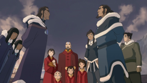 Legend of Korra Book 2 focuses on animosity between the Northern and Southern Water Tribes