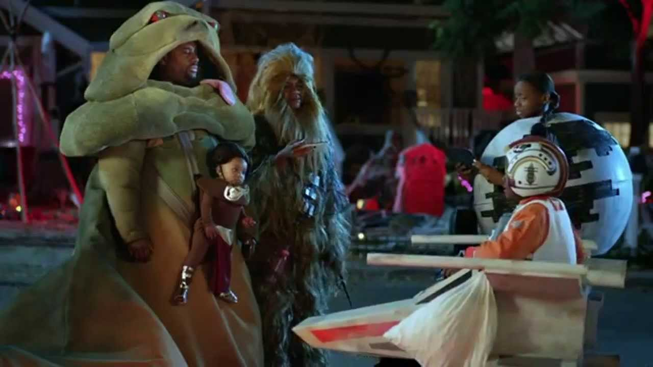 verizon 'star wars' halloween commercial is the cutest   b